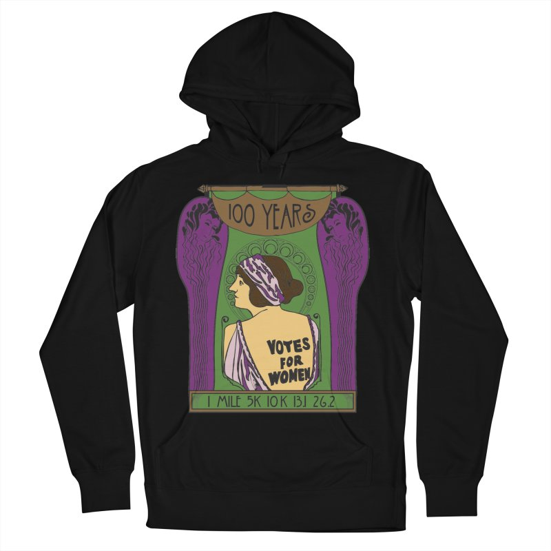 100 Years of Women's Suffrage Men's French Terry Pullover Hoody by Moon Joggers's Artist Shop