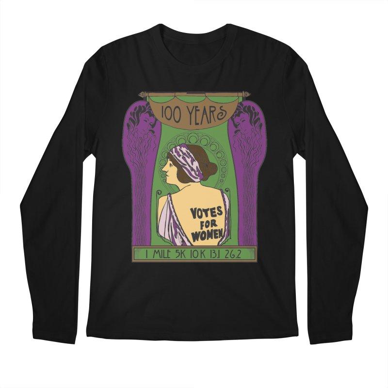 100 Years of Women's Suffrage Men's Regular Longsleeve T-Shirt by Moon Joggers's Artist Shop