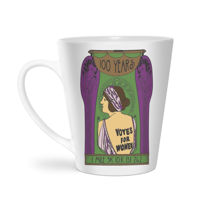 100 Years of Women's Suffrage Accessories Latte Mug by Moon Joggers's Artist Shop