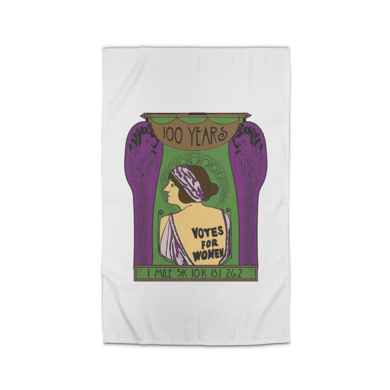 100 Years of Women's Suffrage Home Rug by Moon Joggers's Artist Shop
