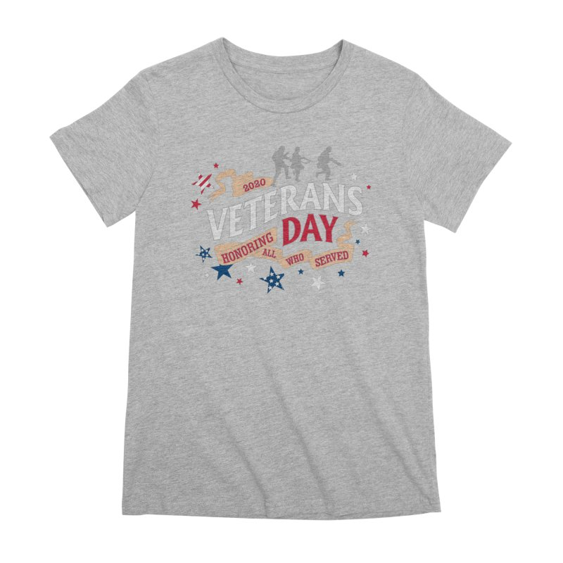 Veterans Day Women's Premium T-Shirt by Moon Joggers's Artist Shop