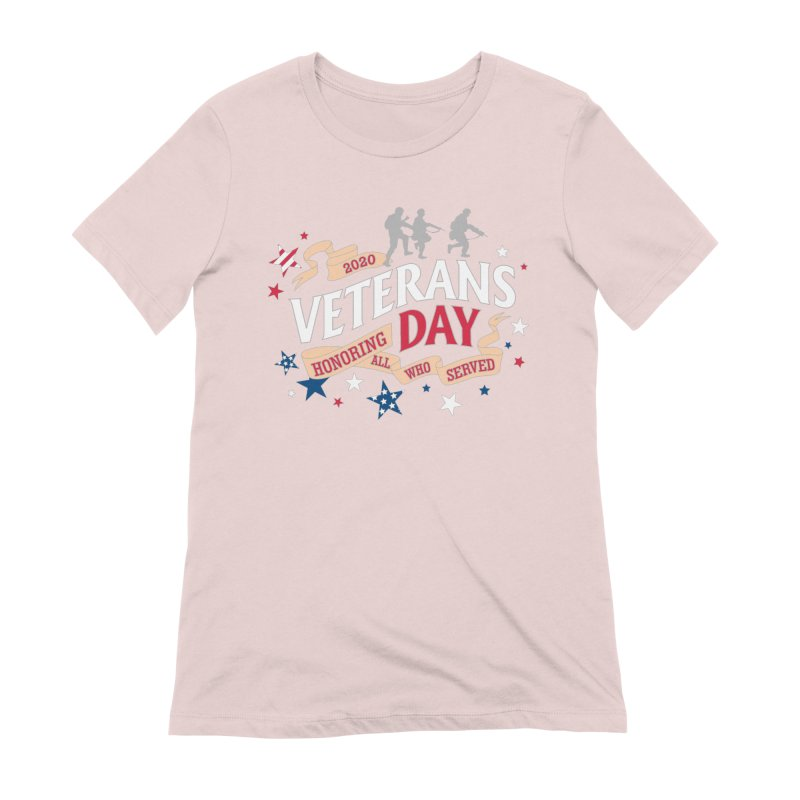 Veterans Day Women's Extra Soft T-Shirt by Moon Joggers's Artist Shop