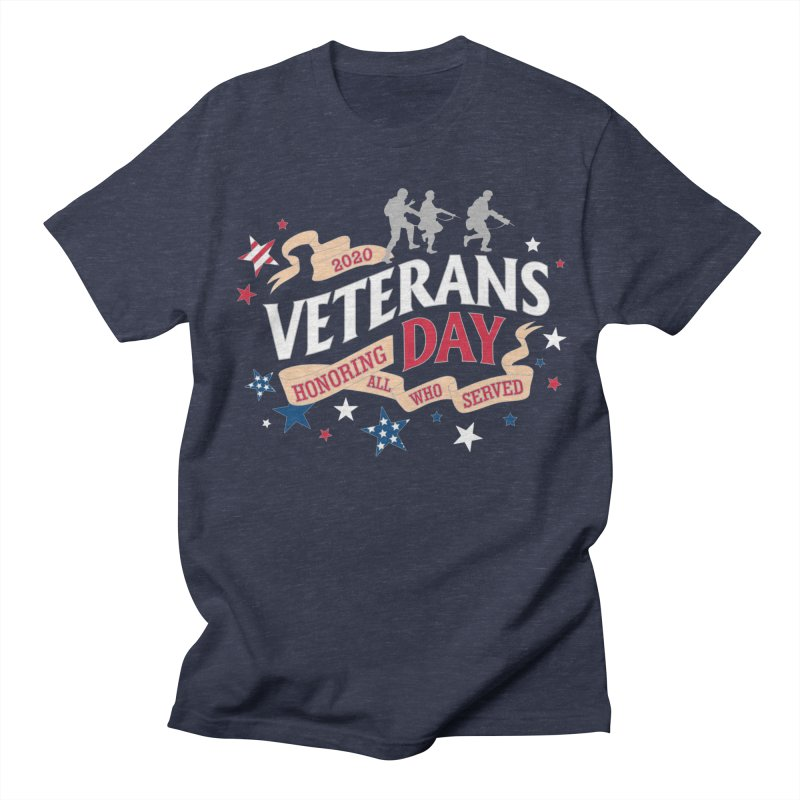 Veterans Day Men's T-Shirt by Moon Joggers's Artist Shop