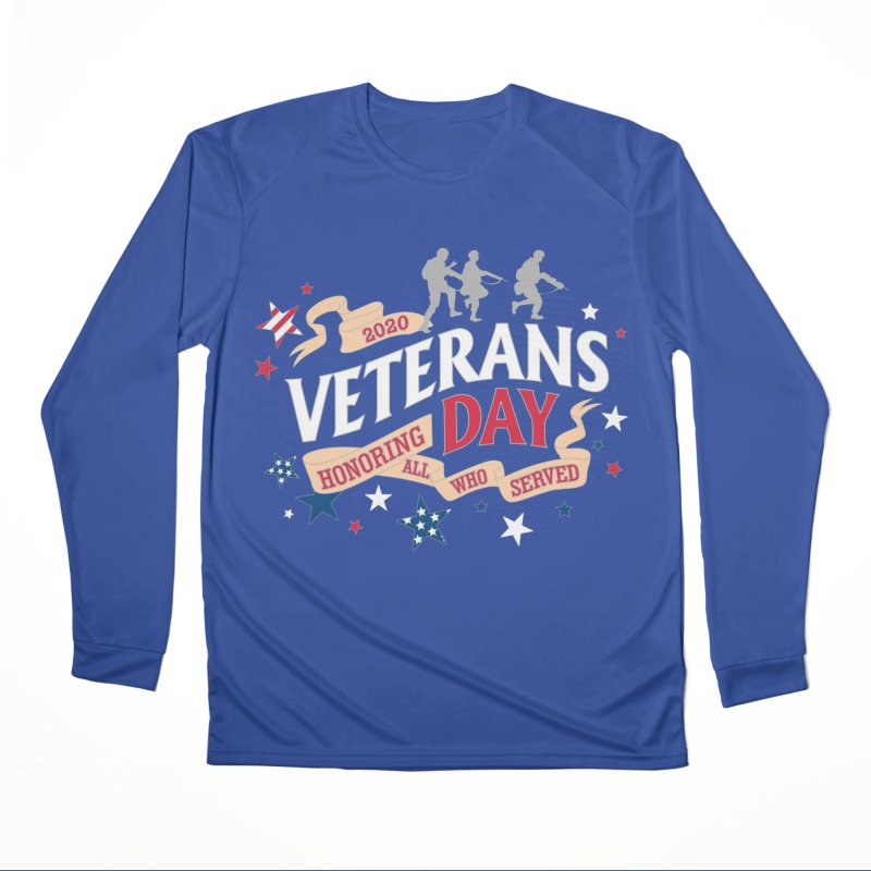 Veterans Day Men's Performance Longsleeve T-Shirt by Moon Joggers's Artist Shop