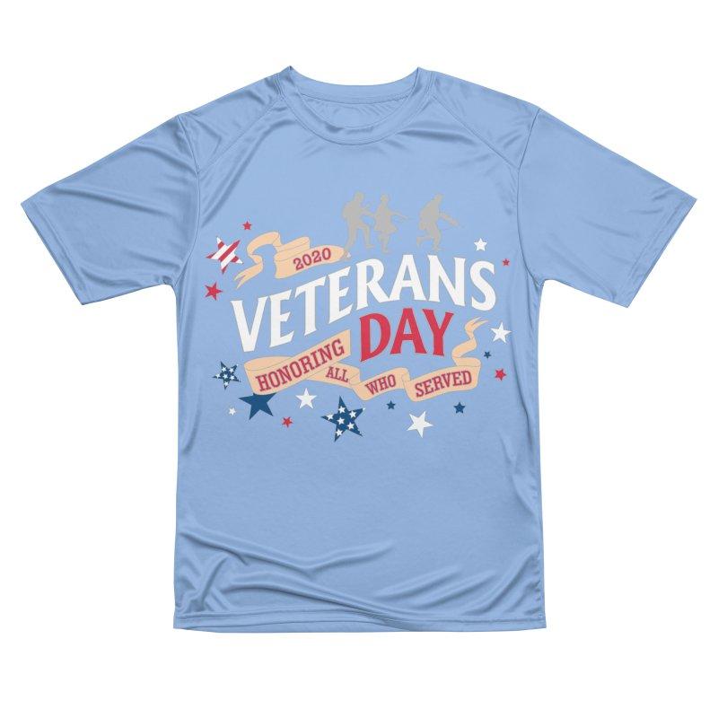Veterans Day Women's Performance Unisex T-Shirt by Moon Joggers's Artist Shop