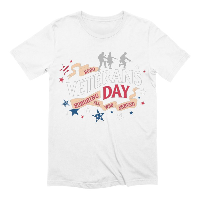 Veterans Day Men's Extra Soft T-Shirt by Moon Joggers's Artist Shop