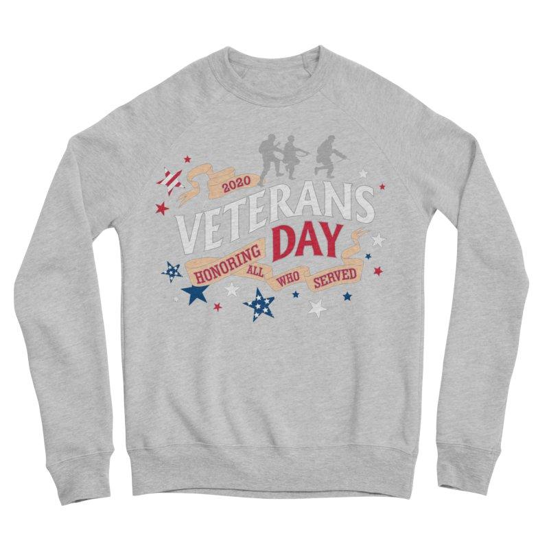 Veterans Day Women's Sponge Fleece Sweatshirt by Moon Joggers's Artist Shop