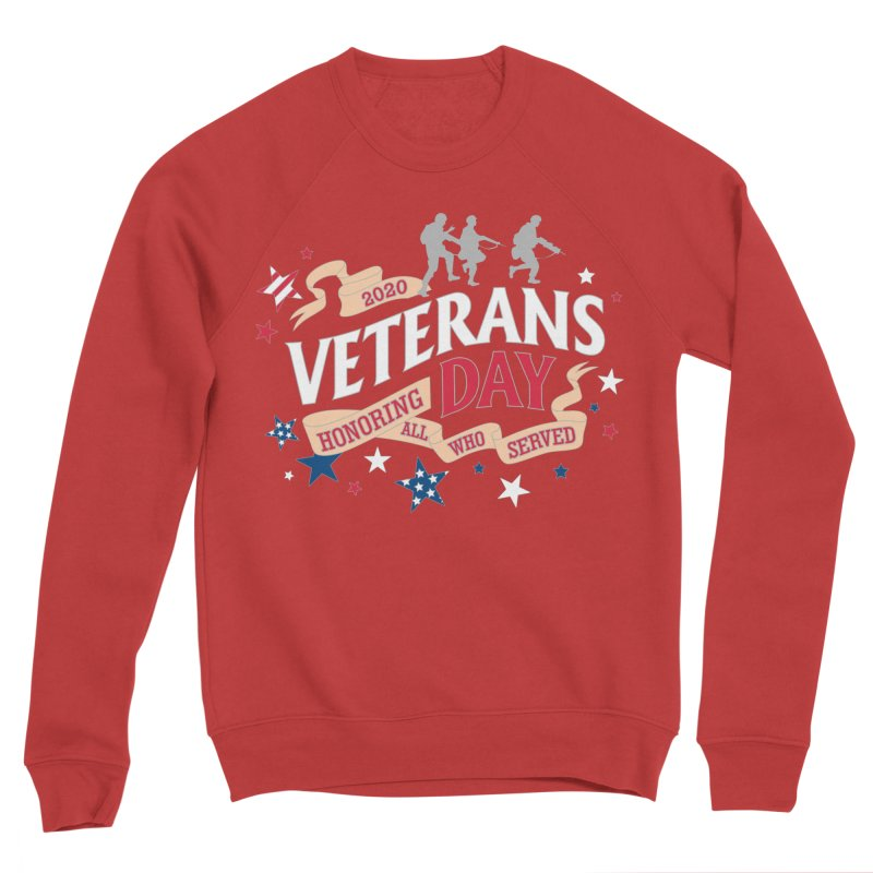 Veterans Day Women's Sponge Fleece Sweatshirt by Moon Joggers's Artist Shop