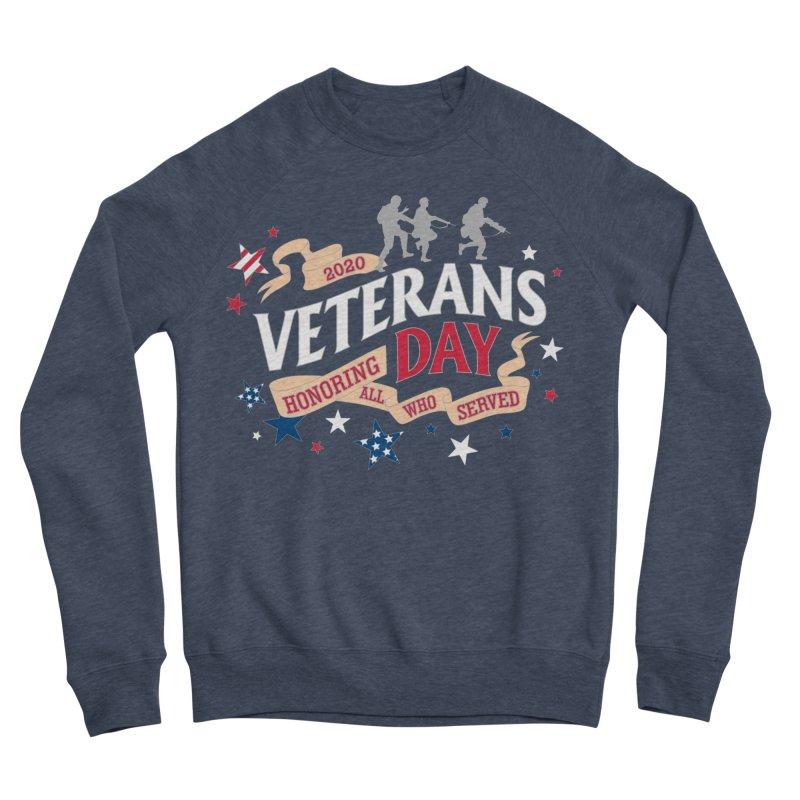 Veterans Day Men's Sponge Fleece Sweatshirt by Moon Joggers's Artist Shop