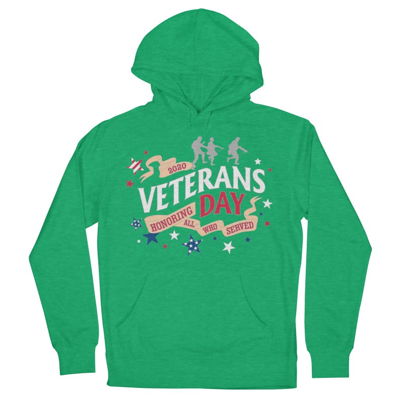 Veterans Day Women's French Terry Pullover Hoody by Moon Joggers's Artist Shop