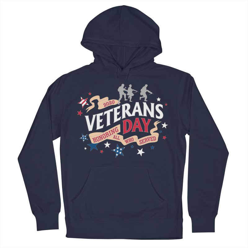 Veterans Day Men's French Terry Pullover Hoody by Moon Joggers's Artist Shop