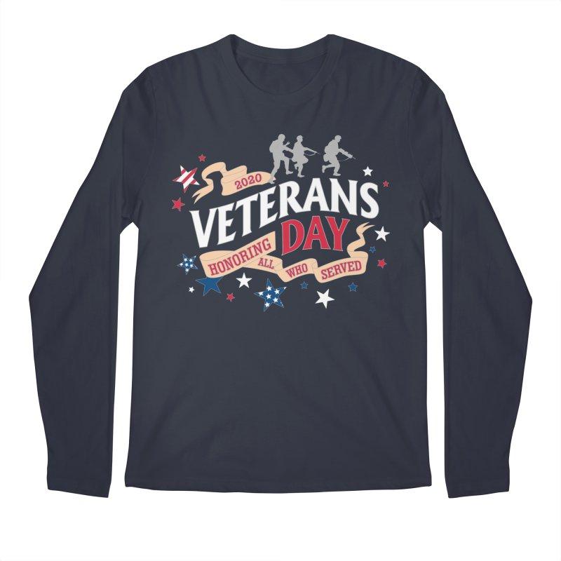 Veterans Day Men's Regular Longsleeve T-Shirt by Moon Joggers's Artist Shop