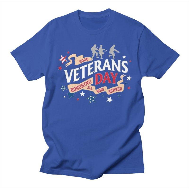 Veterans Day Men's Regular T-Shirt by Moon Joggers's Artist Shop