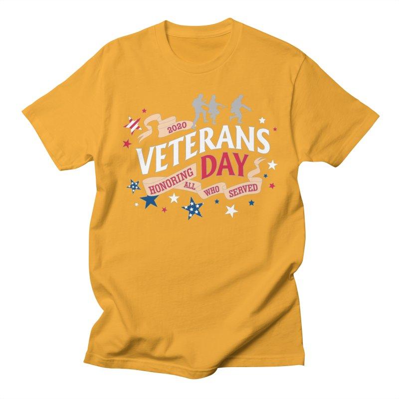 Veterans Day Women's Regular Unisex T-Shirt by Moon Joggers's Artist Shop
