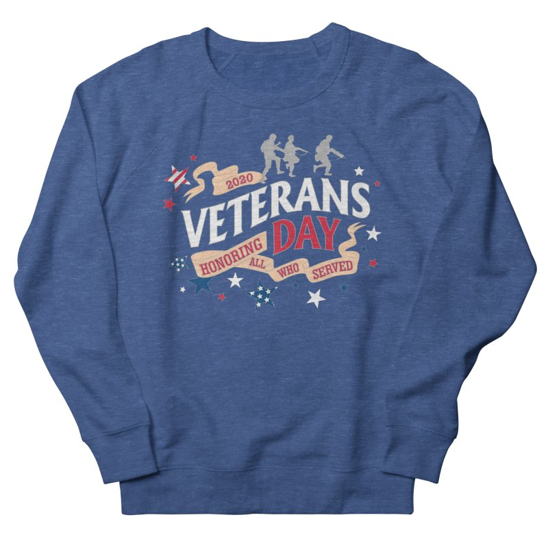 Veterans Day Women's French Terry Sweatshirt by Moon Joggers's Artist Shop