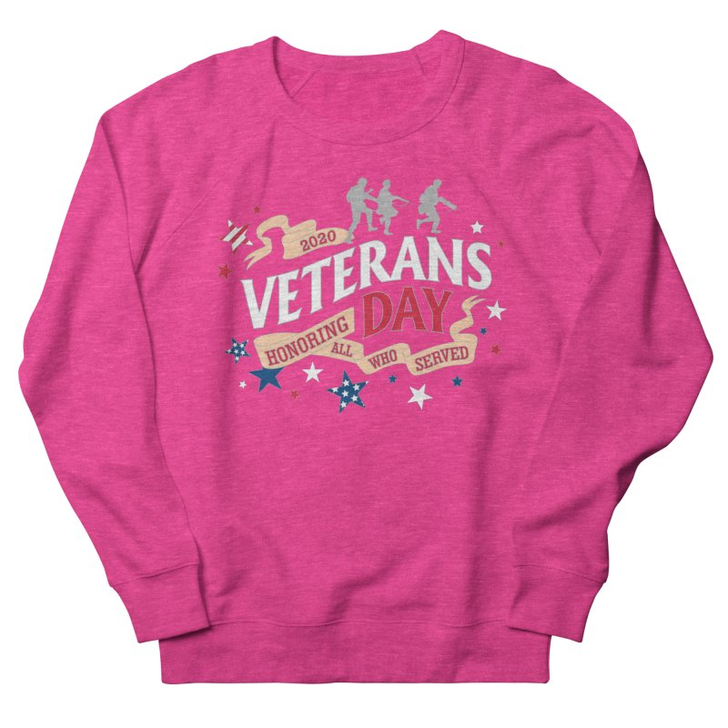 Veterans Day Men's French Terry Sweatshirt by Moon Joggers's Artist Shop