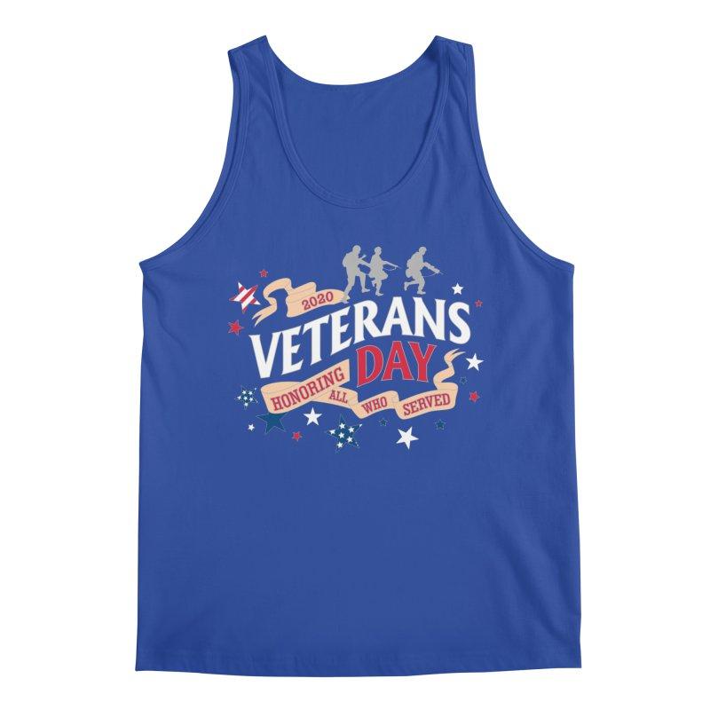 Veterans Day Men's Regular Tank by Moon Joggers's Artist Shop