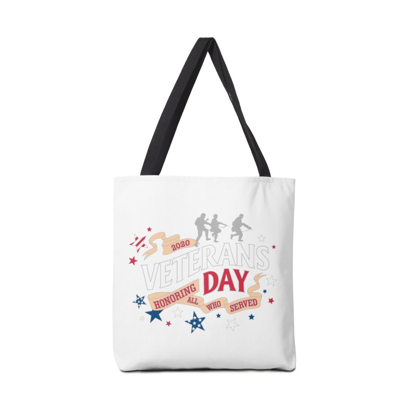 Veterans Day Accessories Tote Bag Bag by Moon Joggers's Artist Shop