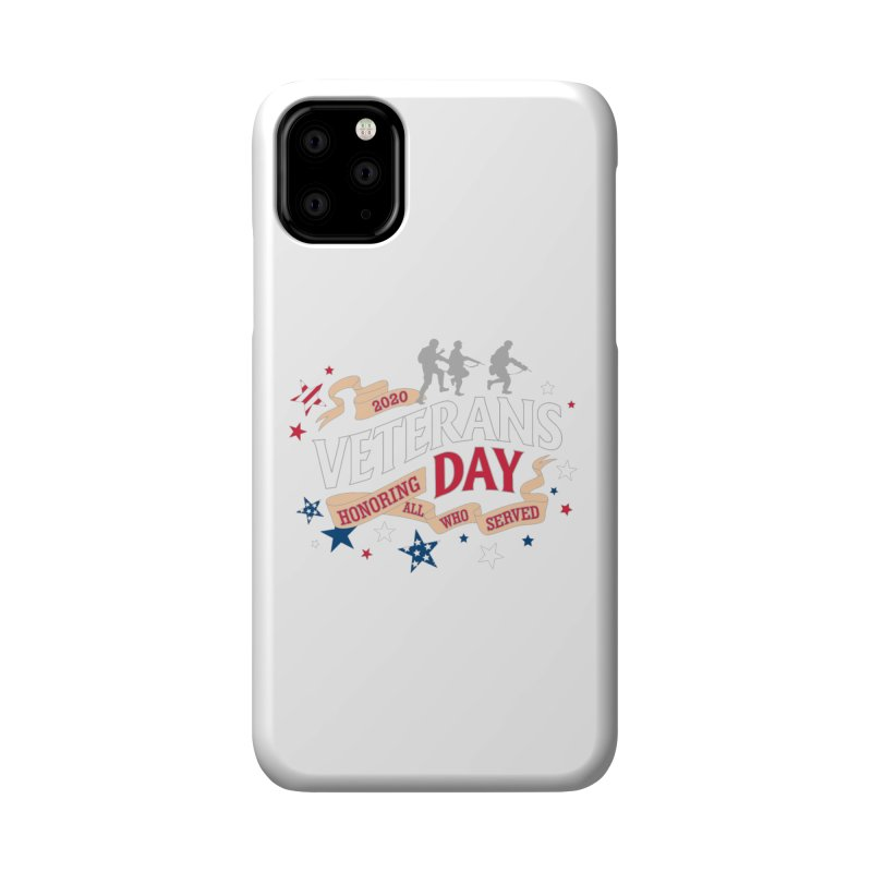 Veterans Day Accessories Phone Case by Moon Joggers's Artist Shop