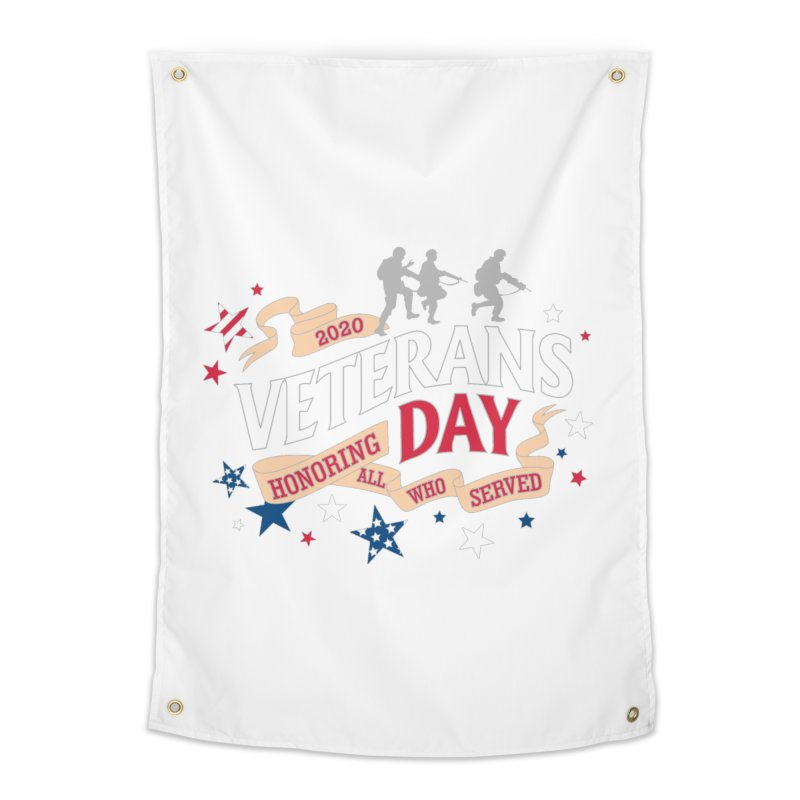 Veterans Day Home Tapestry by Moon Joggers's Artist Shop