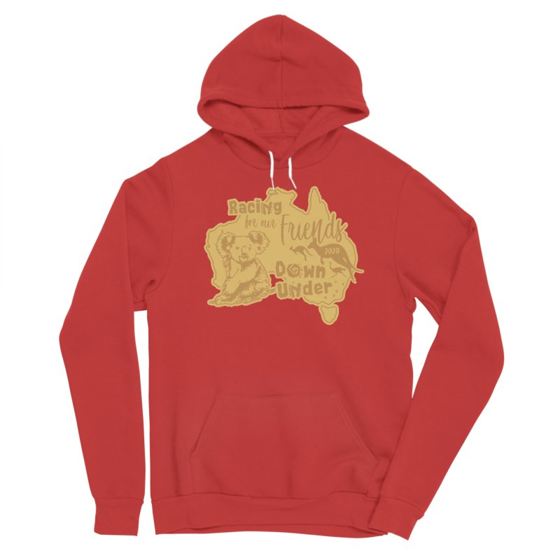 Racing for our Friends Down Under Men's Sponge Fleece Pullover Hoody by Moon Joggers's Artist Shop