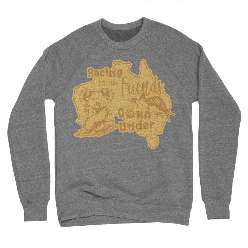 Racing for our Friends Down Under Men's Sponge Fleece Sweatshirt by Moon Joggers's Artist Shop