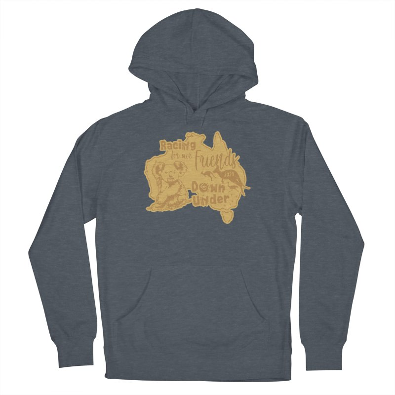 Racing for our Friends Down Under Men's French Terry Pullover Hoody by Moon Joggers's Artist Shop