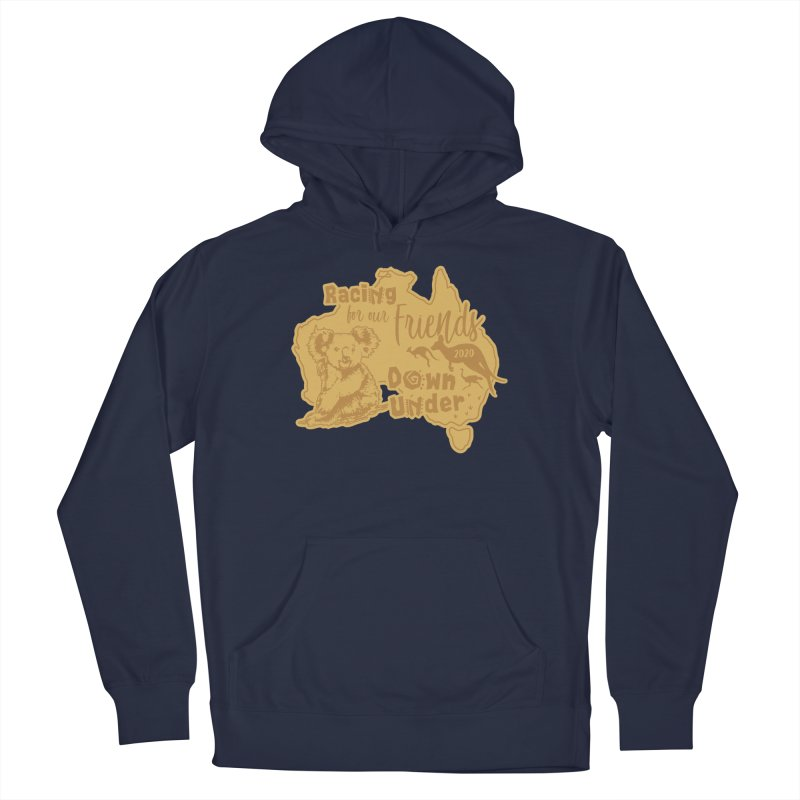 Racing for our Friends Down Under Women's French Terry Pullover Hoody by Moon Joggers's Artist Shop