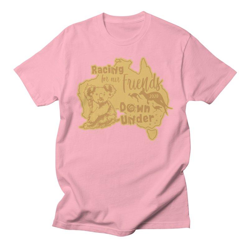 Racing for our Friends Down Under Women's Regular Unisex T-Shirt by Moon Joggers's Artist Shop