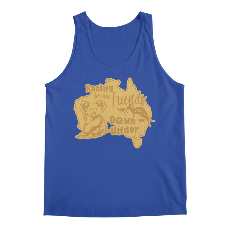 Racing for our Friends Down Under Men's Regular Tank by Moon Joggers's Artist Shop