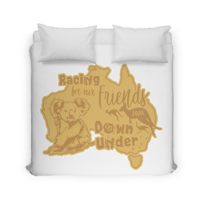 Racing for our Friends Down Under Home Duvet by Moon Joggers's Artist Shop