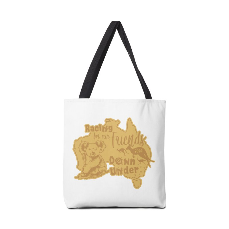 Racing for our Friends Down Under Accessories Tote Bag Bag by Moon Joggers's Artist Shop