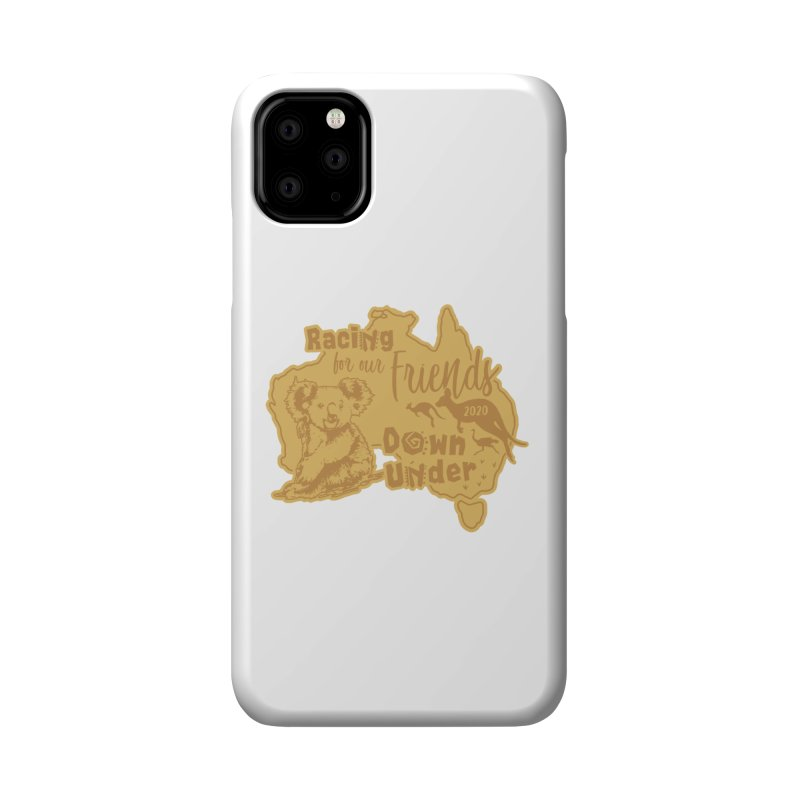 Racing for our Friends Down Under Accessories Phone Case by Moon Joggers's Artist Shop
