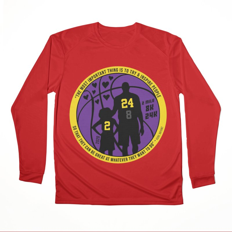 Race For The Greatest Men's Performance Longsleeve T-Shirt by Moon Joggers's Artist Shop