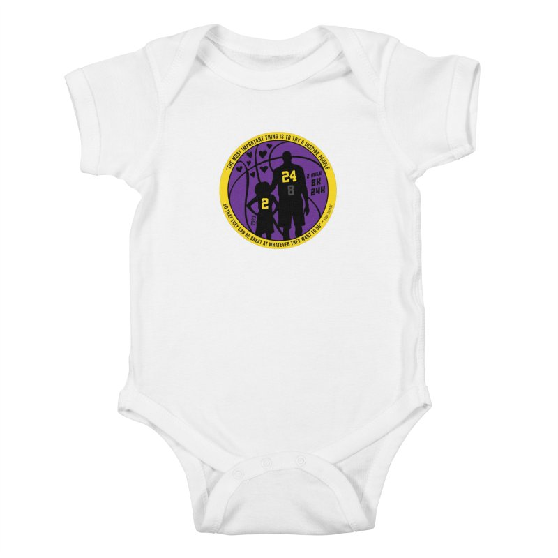 Race For The Greatest Kids Baby Bodysuit by Moon Joggers's Artist Shop