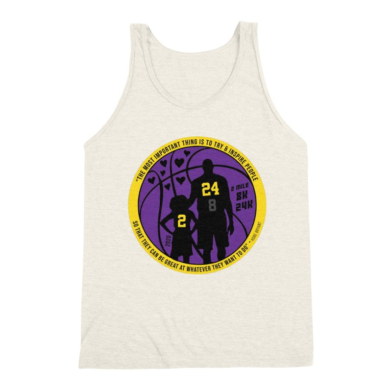 Race For The Greatest Men's Triblend Tank by Moon Joggers's Artist Shop
