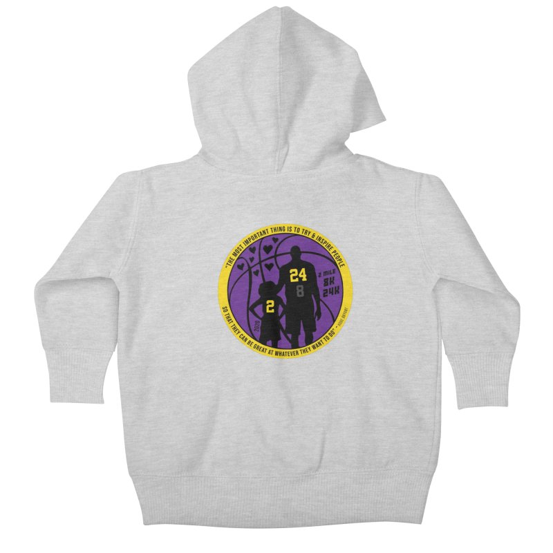 Race For The Greatest Kids Baby Zip-Up Hoody by Moon Joggers's Artist Shop