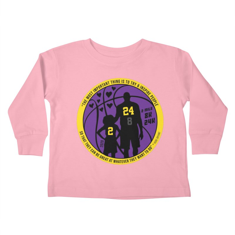 Race For The Greatest Kids Toddler Longsleeve T-Shirt by Moon Joggers's Artist Shop