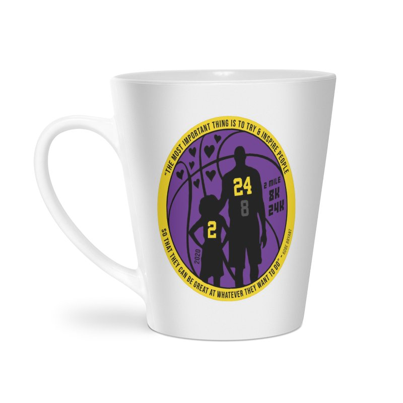 Race For The Greatest Accessories Latte Mug by Moon Joggers's Artist Shop