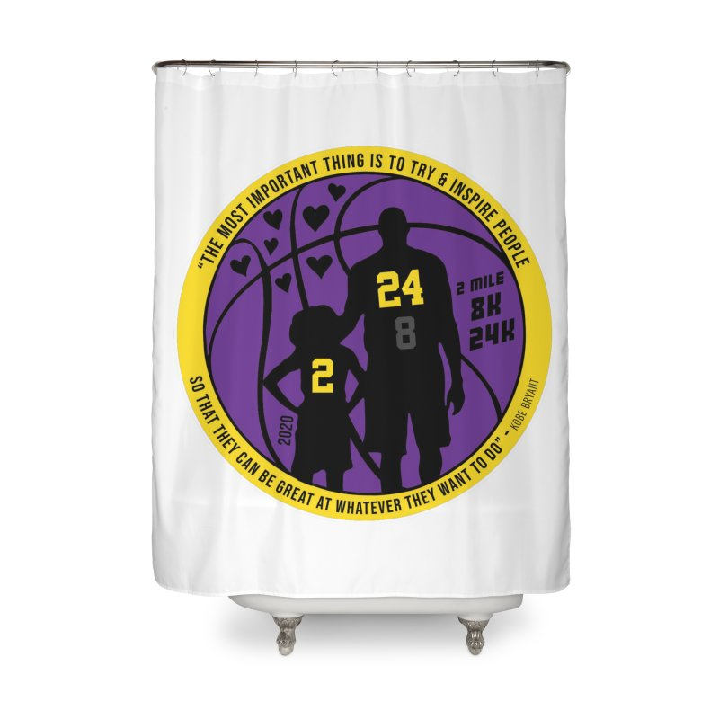Race For The Greatest Home Shower Curtain by Moon Joggers's Artist Shop