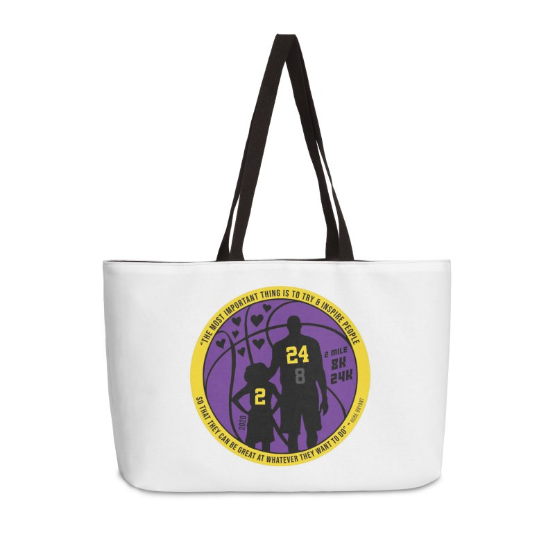 Race For The Greatest Accessories Weekender Bag Bag by Moon Joggers's Artist Shop