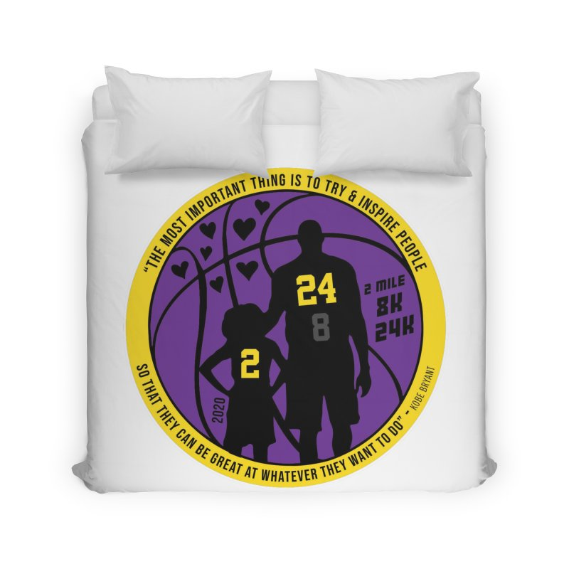 Race For The Greatest Home Duvet by Moon Joggers's Artist Shop