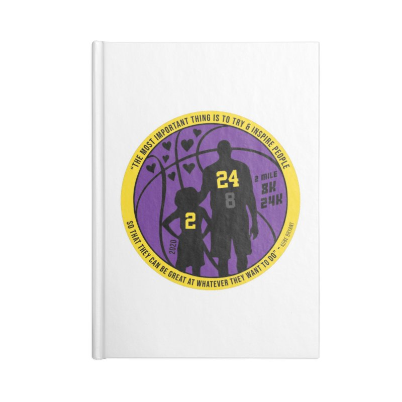 Race For The Greatest Accessories Lined Journal Notebook by Moon Joggers's Artist Shop