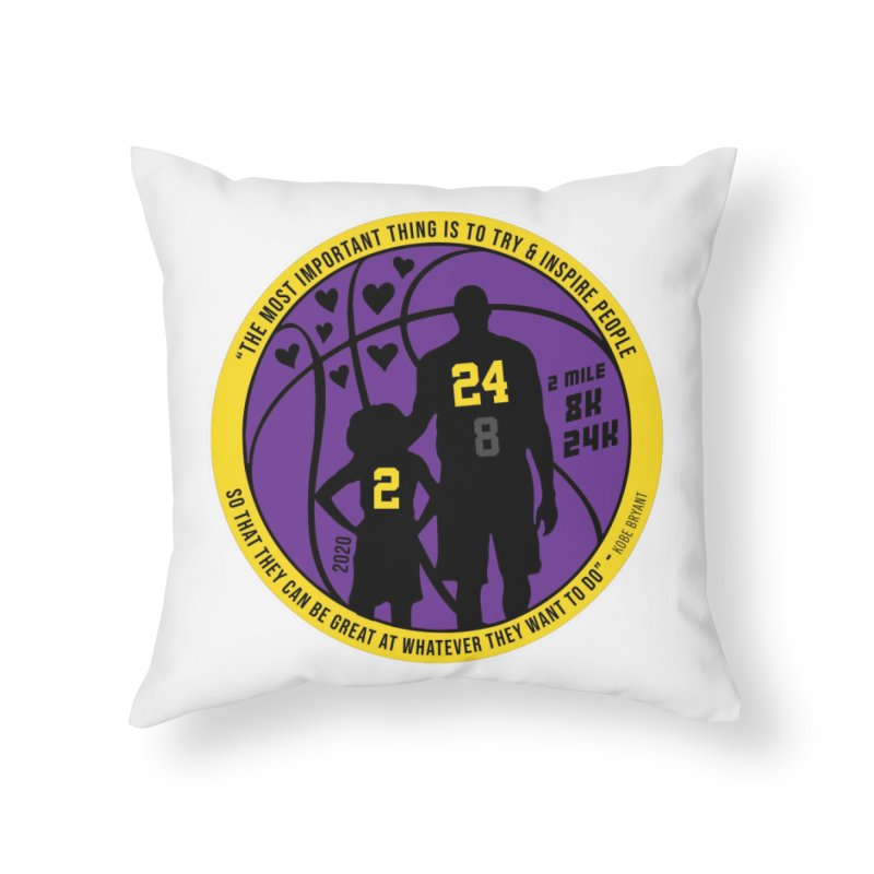 Race For The Greatest Home Throw Pillow by Moon Joggers's Artist Shop