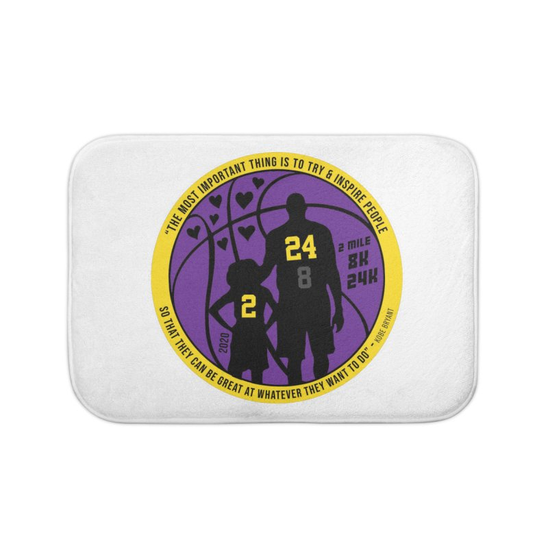 Race For The Greatest Home Bath Mat by Moon Joggers's Artist Shop