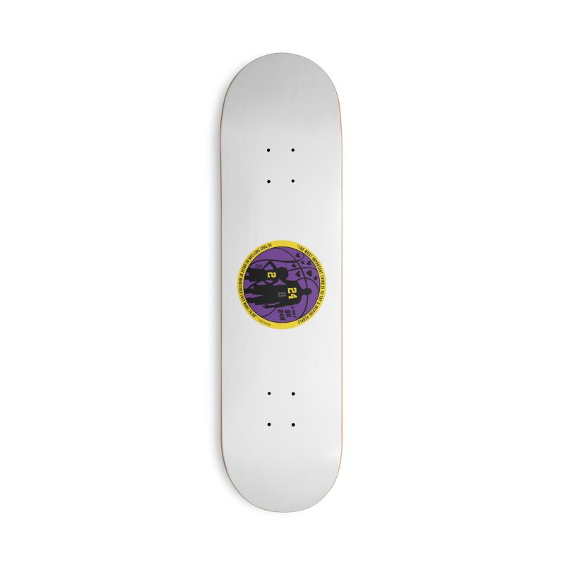 Race For The Greatest Accessories Deck Only Skateboard by Moon Joggers's Artist Shop