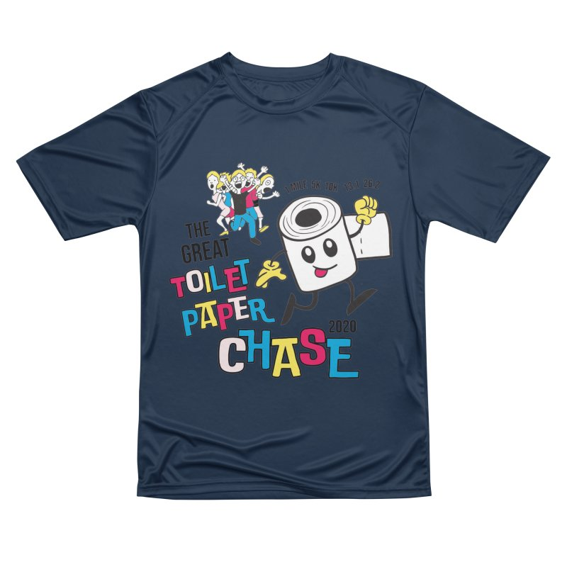 The Great Toilet Paper Chase of 2020 Women's Performance Unisex T-Shirt by Moon Joggers's Artist Shop