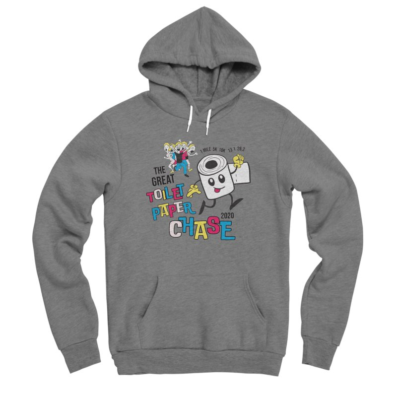 The Great Toilet Paper Chase of 2020 Men's Sponge Fleece Pullover Hoody by Moon Joggers's Artist Shop