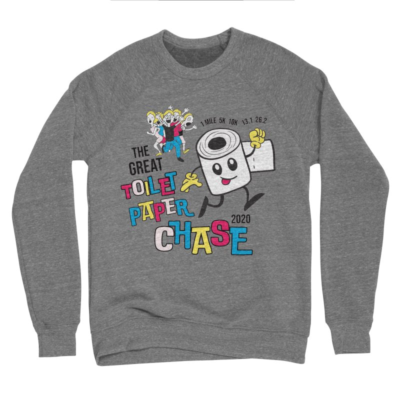 The Great Toilet Paper Chase of 2020 Men's Sponge Fleece Sweatshirt by Moon Joggers's Artist Shop
