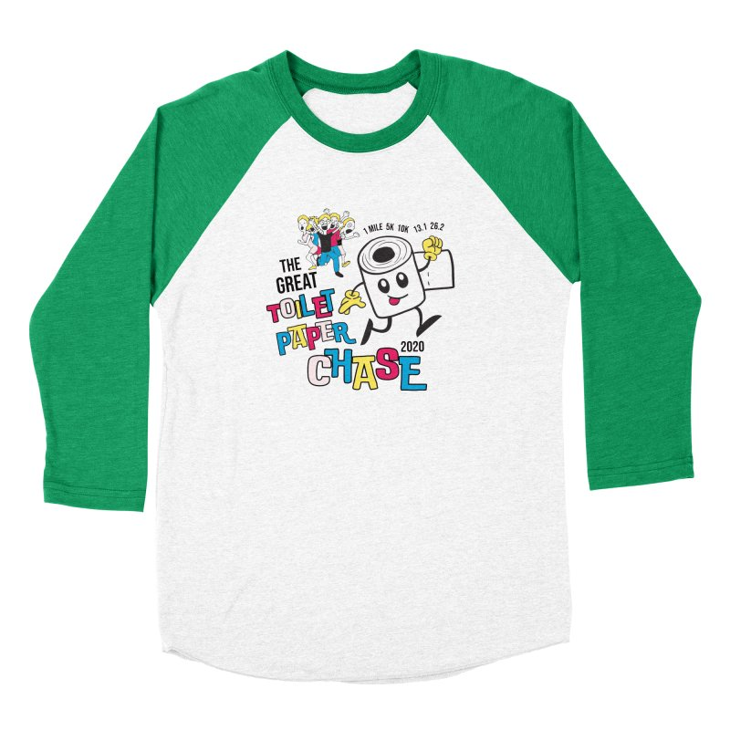 The Great Toilet Paper Chase of 2020 Women's Baseball Triblend Longsleeve T-Shirt by Moon Joggers's Artist Shop